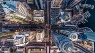 Ein Blick in die Hochhausschluchten von Dubai: Der Preisträger in der Kategorie Urban nennt sich bachirm.