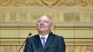 Schäuble lobt Schröders Reformagenda