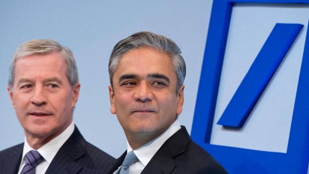 Gewinneinbruch bei der Deutschen Bank