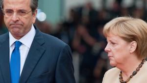 Merkel will den Griechen nichts versprechen