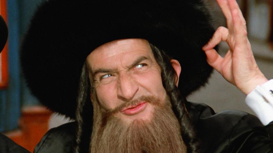 Luis de Funès in Die Abenteuer des Rabbi Jacob (1973)