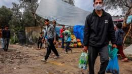 Migranten auf Lesbos in Bedrängnis