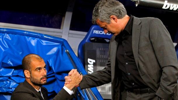 Pep Guardiola und Jose Mourinho