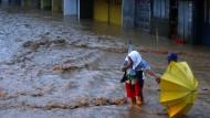 Taifun wütet auf den Philippinen