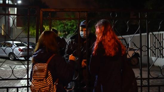 Belarussische Polizei nimmt mutmaßlich Journalisten fest