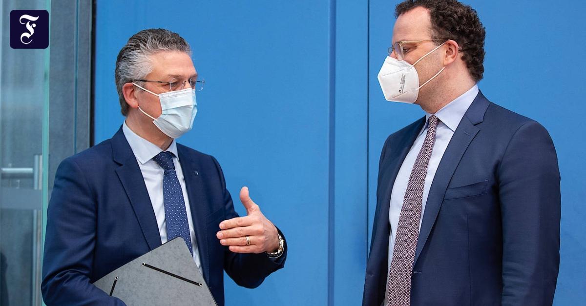 RKI-Präsident Wieler mahnt zu großer Vorsicht bei Öffnungen - FAZ - Frankfurter Allgemeine Zeitung