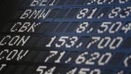 Abstieg: Weil der Kurs der Commerzbank, an der Börse CBK genannt, stark gesunken ist, fliegt die Aktie aus dem Dax.