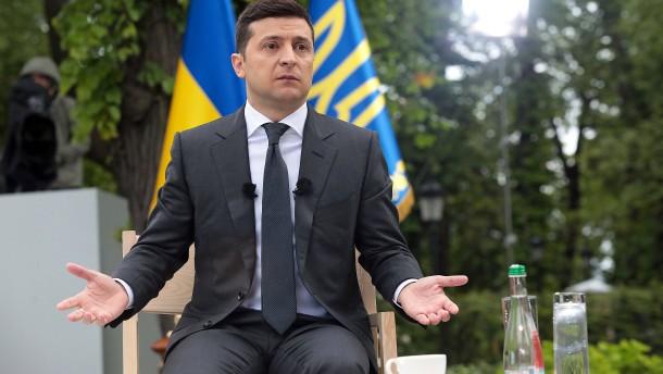 """Ein Jahr nach dem """"Neustart"""" in der Ukraine"""