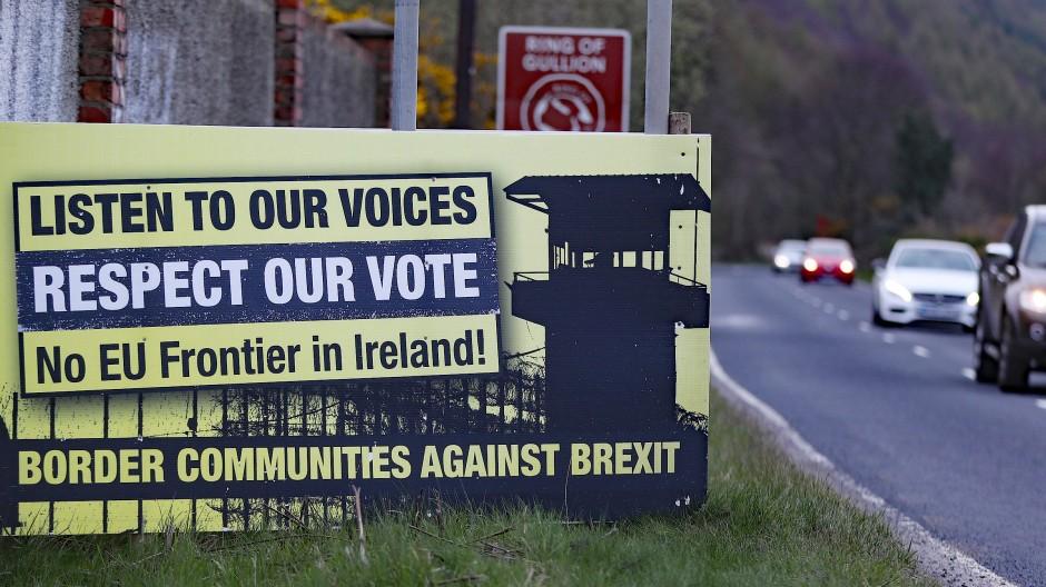 Die Angst vor der Spaltung: Viele Iren und Nordiren hoffen auf eine unsichtbare Grenze.