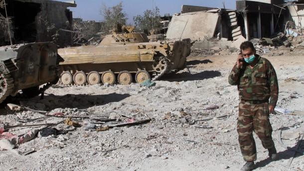 Amerika: Giftgas-Untersuchung in Syrien kommt zu spät