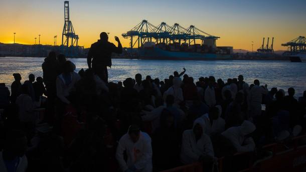 Vorschlag für EU-Flüchtlingszentrum in Spanien