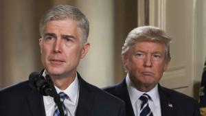 Trumps eigener Supreme-Court-Kandidat kanzelt Präsidenten ab