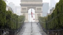 Frankreichs Nationalfeiertag im Zeichen von Corona