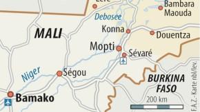 Karte / Afrika / Mali