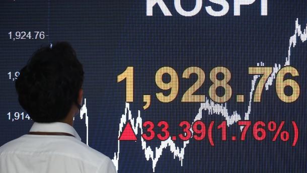 Corona-Lockerungen erfreuen Asiens Börsen