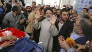 Hohe Wahlbeteiligung bei Präsidentschaftswahl in Iran
