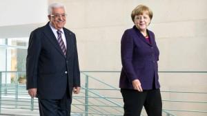Berliner Zusagen für Ramallah