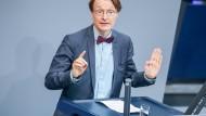 Fordert grundlegende Veränderungen in der Groko: der SPD-Politiker Karl Lauterbach