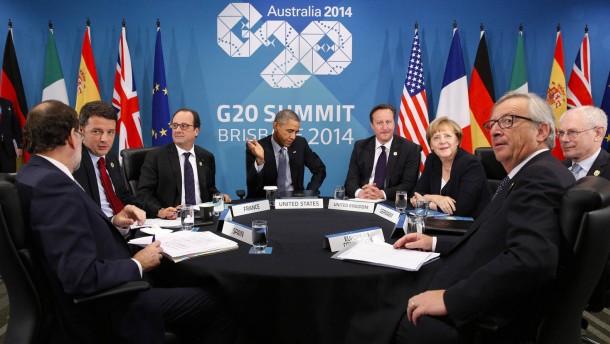 Australien verschickte persönliche Daten von Staats- und Regierungschefs