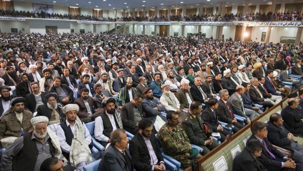 Loya Dschirga in Kabul für strategische Partnerschaft
