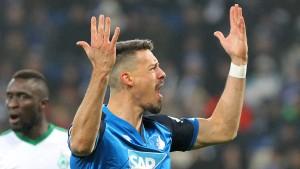 Hoffenheim überwintert ohne Niederlage