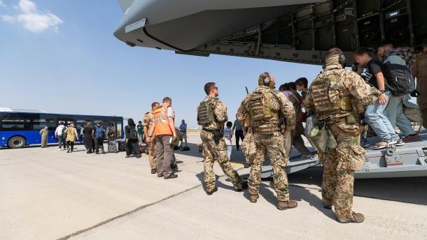 Bundeswehrsoldaten am Freitag wieder in Deutschland Deutschland erwartet