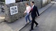 Parlamentswahl in Großbritannien hat begonnen