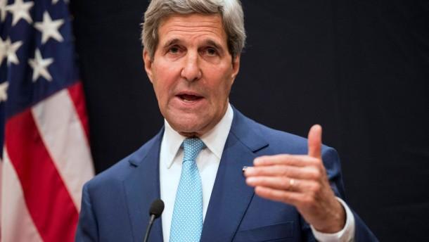 Kerry überraschend in Bagdad