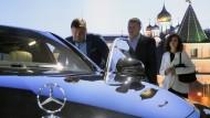 Daimler baut neues Mercedes-Werk nahe Moskau