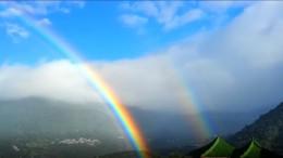 Der Rekord-Regenbogen