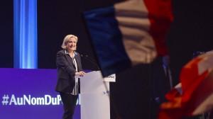 Marine Le Pen erhielt im ersten Urnengang 21,3 Prozent der Stimmen.