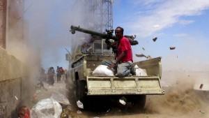 Saudi-Arabien fängt Raketen aus dem Jemen ab