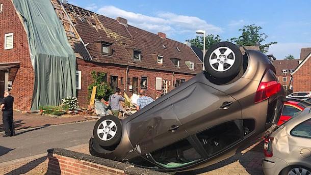 Verdacht auf Tornado in Bocholt