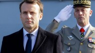 Frankreichs Präsident Macron im Januar 2018.