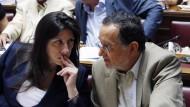 Die Zähmung Syrizas