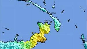 Tsunami-Warnung vor Papua-Neuguinea