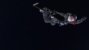 Olympiasiegerin Chloe Kim zurück im Wettkampf