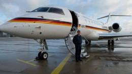 Regierungsflugzeug in Afrika schon wieder am Boden