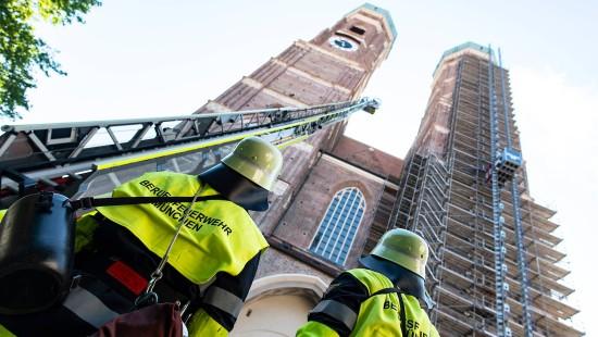 Feuerwehr probt in München den Ernstfall