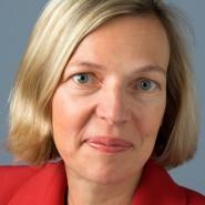 """Michaela Wiegel - Portraitaufnahme für das Blaue Buch """"Die Redaktion stellt sich vor"""" der Frankfurter Allgemeinen Zeitung"""
