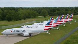American Airlines streicht weitere Boeing-737-Max-Flüge