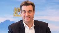 """Für """"freieres Denken"""" in der Pandemie: Der bayerische Ministerpräsident und CSU-Chef Markus Söder"""