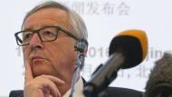 Juncker drängt May zu raschen Gesprächen
