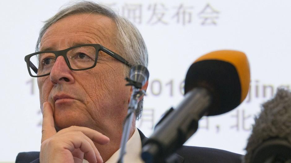 Will die Brexit-Gespräche nicht lange aufschieben: EU-Kommissionspräsident Jean-Claude Juncker