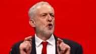 Labour leuchtet mit Jeremy Corbyn so feuerrot wie seit einer Generation nicht mehr.