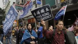 Gegen Peking auf die Straße