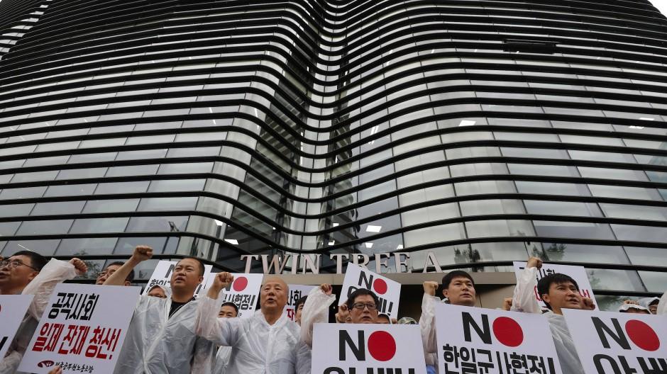 Der Handelsstreit zwischen Seoul und Tokio hat in Südkorea zu einer Boykott-Bewegung gegen japanische Produkte geführt.
