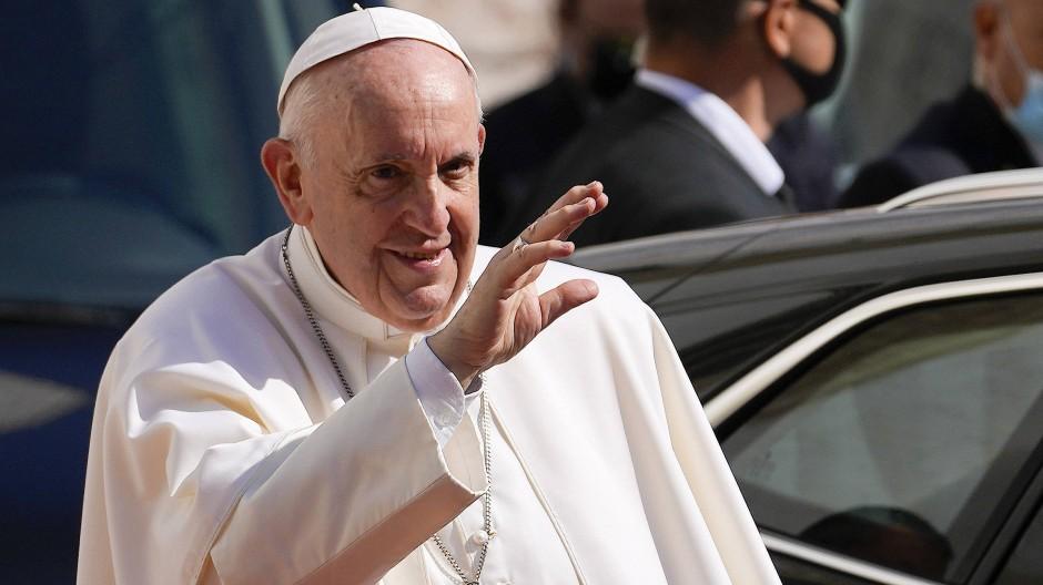 Auf Versöhnungskurs: Der Papst in Bratislava