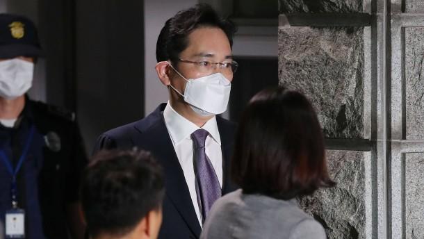 Samsung-Chef bleibt frei
