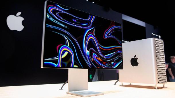 Apple gibt letzte nennenswerte Produktion in Amerika auf